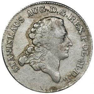 Poniatowski, 8 Groschen 1777 EB