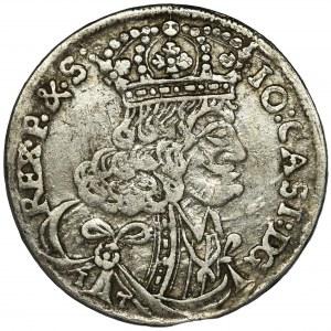 Jan II Kazimierz, Ort Kraków 1657 IT SCH