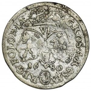 Jan III Sobieski, Szóstak Bydgoszcz 1680 TLB