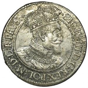 Zygmunt III Waza, Ort Gdańsk 1616 - uzka kryza