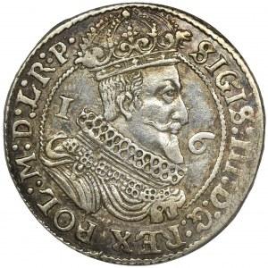 Sigismund III Vasa, 1/4 Thaler Danzig 1625 - P•
