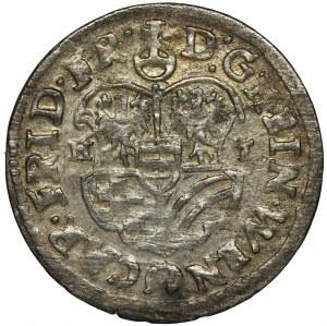 Śląsk, Księstwo Ziębicko-Oleśnickie, Henryk Wacław i Karol Fryderyk, 3 Krajcary Oleśnica 1622 HT