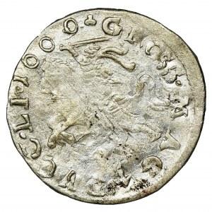 Sigismund III Vasa, Groschen Vilnius 1609 - SSIG error, RARE