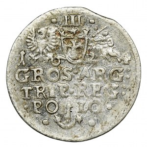 Zygmunt III Waza, Trojak Kraków 1624 - niedobita 6