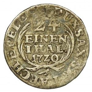 August II Mocny, 1/24 Talara (grosz) Drezno 1720 IGS