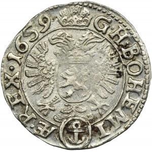 Austria, Leopold I, 3 Krajcary Praga 1659