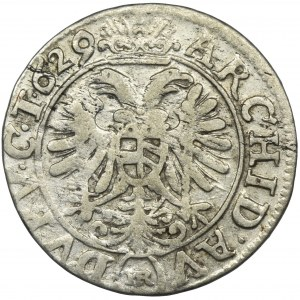 Śląsk, Ferdynand II, 3 Krajcary Wrocław 1629 HR