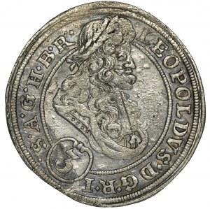 Śląsk, Leopold I, 3 Krajcary Wrocław 1695 MMW