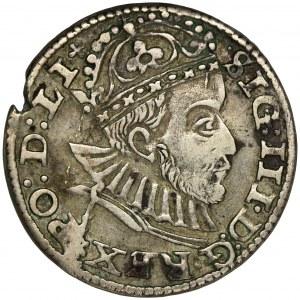 Sigismund III Vasa, 3 Groschen Riga 1588
