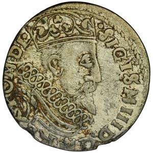 Zygmunt III Waza, Trojak Kraków 1601 - FAŁSZERSTWO