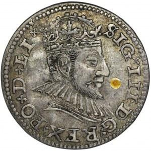 Sigismund III Vasa, 3 Groschen Riga 1590