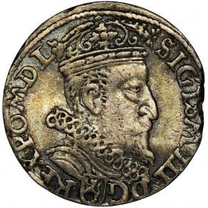 Zygmunt III Waza, Trojak Kraków 1604 - RZADSZY