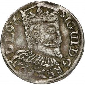 Zygmunt III Waza, Trojak Poznań 1596 - RZADSZY, data na awersie