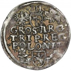 Sigismund III Vasa, 3 Groschen Posen 1596 - RARE
