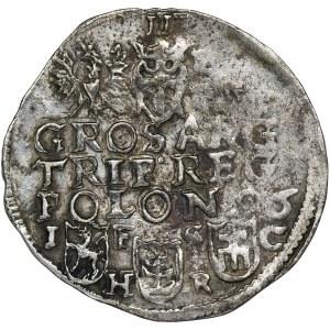 Sigismund III Vasa, 3 Groschen Bromberg 1596