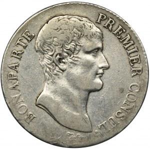 Francja, Napoleon Bonaparte, 5 Franków Paryż AN XI (1802-1803)