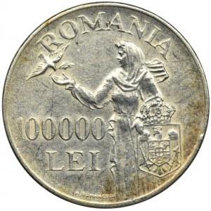 Rumunia, Michał I, 100.000 Lei 1946