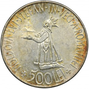 Rumunia, Michał I, 500 Lei 1941