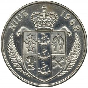 Niue, 5 Dolarów 1988