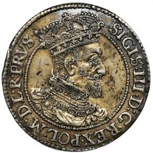 Sigismund III Vasa, 1/4 Thaler Danzig 1618
