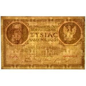 1.000 marek 1919 - Ser.ZR. - PMG 63