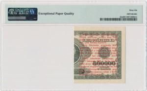 1 grosz 1924 - BH ❉ - lewa połowa - PMG 66 EPQ
