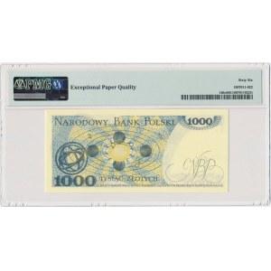 1.000 złotych 1982 - DL - PMG 66 EPQ
