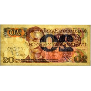 20 złotych 1982 - A - PMG 65 EPQ