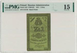 1 złoty 1831 Głuszyński - PMG 15