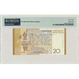 20 złotych 2009 - Juliusz Słowacki - PMG 68 EPQ
