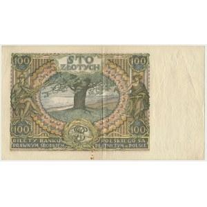 100 złotych 1932 - Ser.AA. - rzadka seria