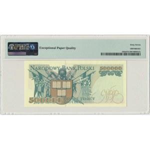 500.000 złotych 1993 - Z - PMG 67 EPQ