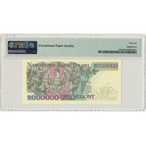 2 miliony złotych 1992 - A - Konstytucyjy - PMG 66 EPQ