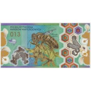 PWPW 013, Pszczoła (2013) - HH - numeracja czerwona -