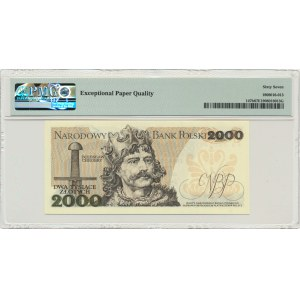 2.000 złotych 1979 - AA - PMG 67 EPQ