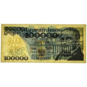 100.000 złotych 1990 - A - PMG 67 EPQ