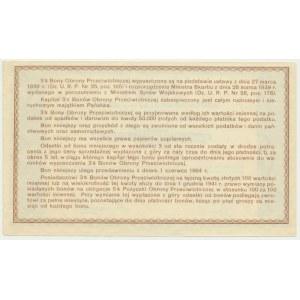 Bon Obrony Przeciwlotniczej, 20 złotych 1939