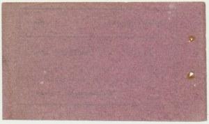 Łęczyca - bilet opłaty targowej