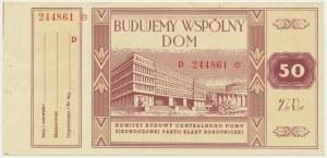 Budujemy Wspólny Dom - 50 zł