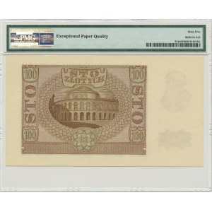 100 złotych 1940 - ZWZ - B - PMG 65 EPQ