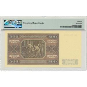 500 złotych 1948 - CC - PMG 66 EPQ