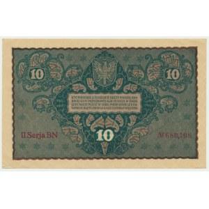 10 marek 1919 - II Serja BN -