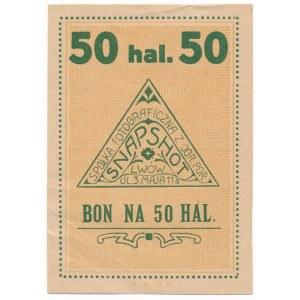 Lwów, Snapshot, 50 halerzy (1919)