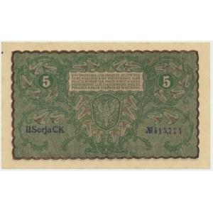5 marek 1919 - II Serja CK -