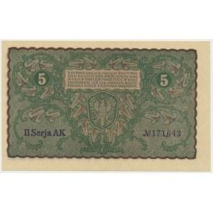 5 marek 1919 - II Serja AK -