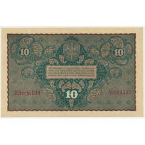 10 marek 1919 - II Serja DH -