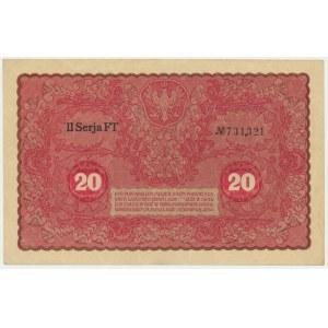 20 marek 1919 - II Serja FT -