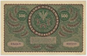 500 marek 1919 - II Serja N -