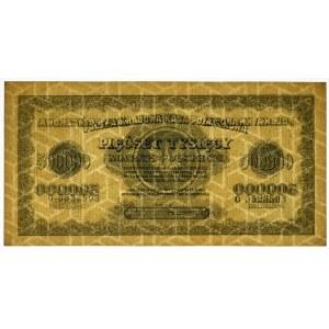 500.000 marek 1923 - G - 7 cyfr -