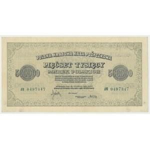 500.000 marek 1923 - AN - 7 cyfr -